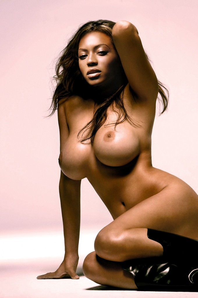 Beyonce in shower nude