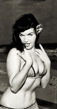 Nasty pics of betty page