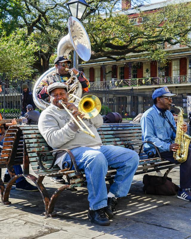 Downtown music new orleans