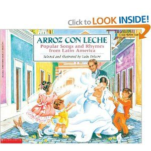 Arroz con leche popular songs and rhymes from latin america