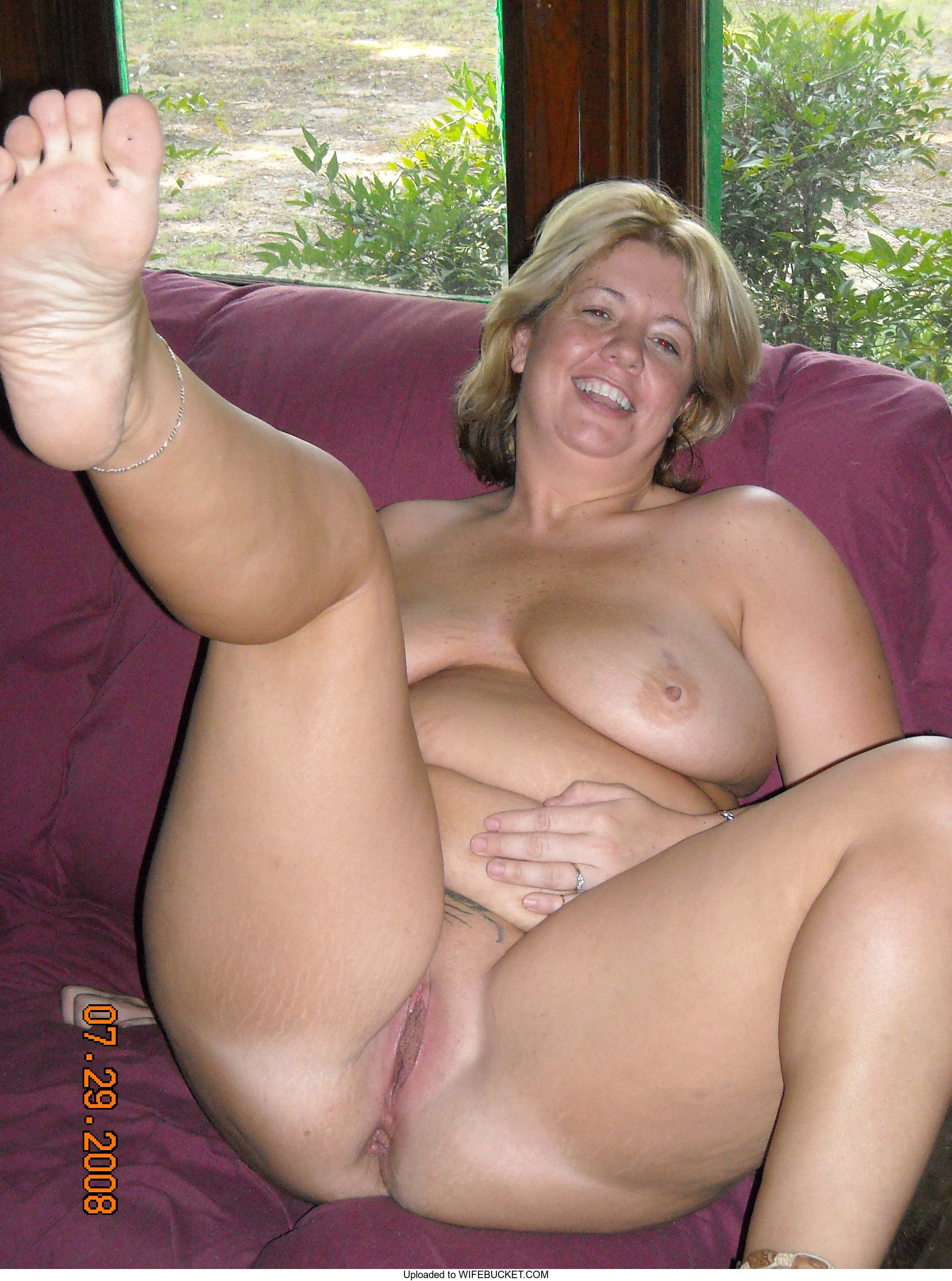 Real naked wives old