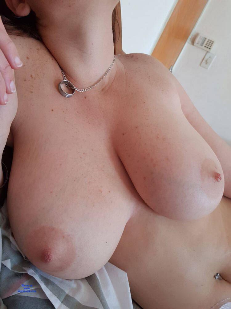 My wifes hot tits